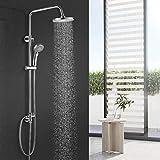 BONADE Duschsystem Duschsäule ohne Wasserhahn inkl....